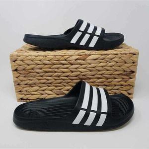 NWOB Adidas Mens Duramo Slide Sandals 11